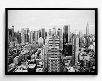New York City Print, NYC Print, New York City Photo, Black and White Art, NYC Photo, Digital Download, Printable Wall Art, Digital Print
