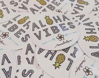 Aloha Vibes Sticker