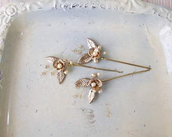 OLIVIA hairpins -set of 3 pcs
