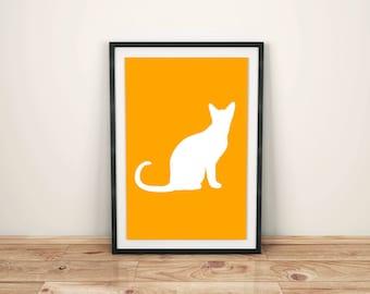 Animal Print Nursery Animal Print Nursery Décor Nursery Print Nursery Art Zoo Animals Cat Print Cat Art Print Cat Animal