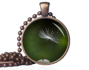 Dandelion Seed Necklace - Dandelion Seed - Dandelion Wish Necklace - Dandilion Seed Necklace - Dandilion Seed - Dandilion Wish Necklace