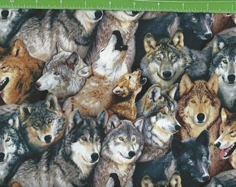 Wolf Pack, of many colors, Elizabeth Studio