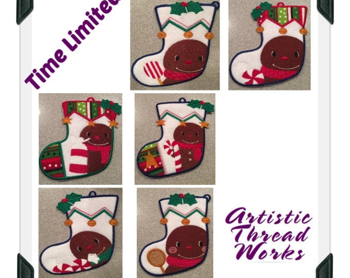 Gingerbread-Stocking-Gift-Card-Holders-JTL ( 6 Machine Embroidery Designs from ATW )