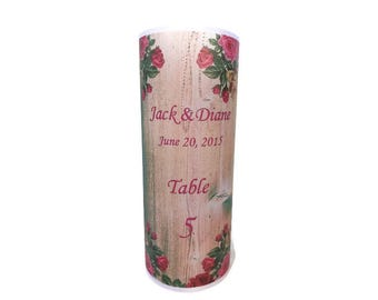 Table numbers,  Luminaries , Table decor, Wedding table centerpiece, rustic wedding, barn wedding, vintage wedding decor, vintage candle