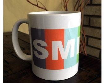 SMILES Coffee Mug   Big Bang Theory Mug