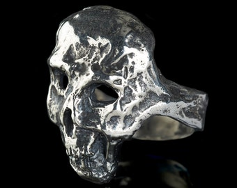 MECHANIC - Silver Skull Ring