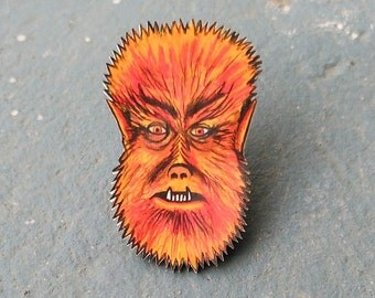 Wolfman Pin