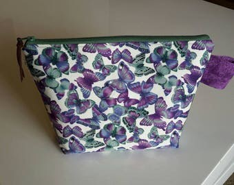 Project Bag, Small Zippered Wedge