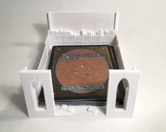 Magic the Gathering Library Holder - 3D Printed