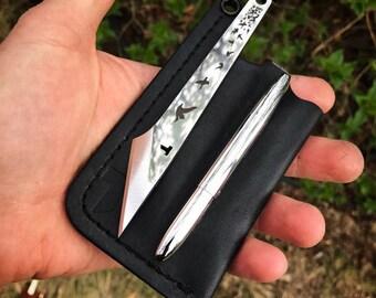 CANYON Silver and Black kiridashi and Fisher™ Space Pen Set