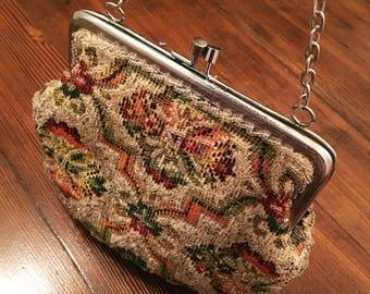 Vintage Walborg Hand Beaded Handbag
