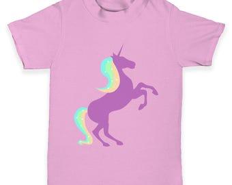 Unicorn Silhouette Baby Toddler T-Shirt
