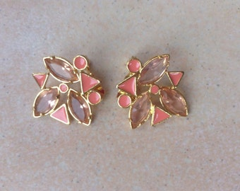 Original Yves Saint Laurent YSL earrings/Ohrringe