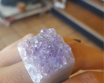 Raw Amethyst Ring3