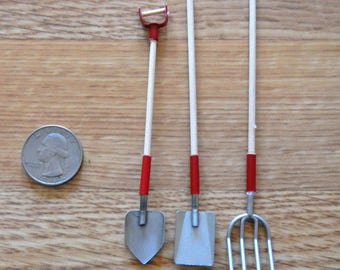 Timeless Minis   Garden Tools   3 Pc Set   1 Pkg   #2309