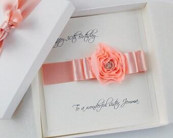 LUXURY Birthday Card, HANDMADE Birthday Card, PERSONALISED Birthday Card, Special Birthday Card, Gift Boxed Cards