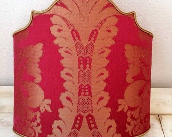 Damask Rubelli silk shade