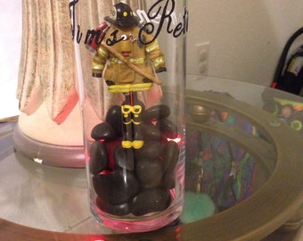 Firefighter Centerpiece