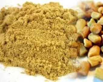 Organic Fenugreek powder,PURE Methi powder ,hygenic and free from artificial colourings and flavourings. In powdered form