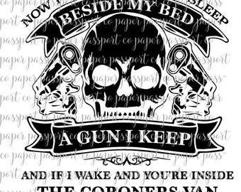 2nd Amendment Gun I Keep SVG