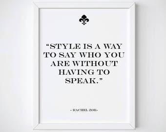 Fashion Wall Art Poster • Fashion Prints Wall Art • Vogue Poster • Fashion Poster • Style Print • Fashion Print • Fashion Art • Fashion Art