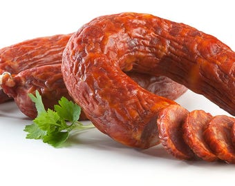Free Shipping!! Portuguese traditional chouriço / chorizo / sausage!Delicious!!From Portugal!