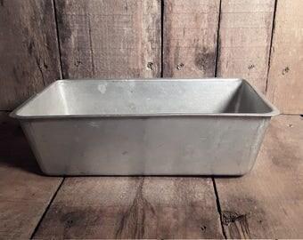 Great Northern Aluminum Meatloaf Pans, Folded Metal Loaf Pan, Loaf Baking Pan, Vintage Bakeware, Vintage Kitchen, Farmhouse Kitchen