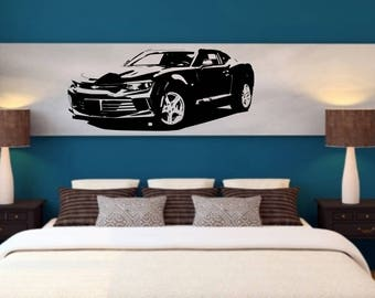 Camaro car wall vinyl or sticker