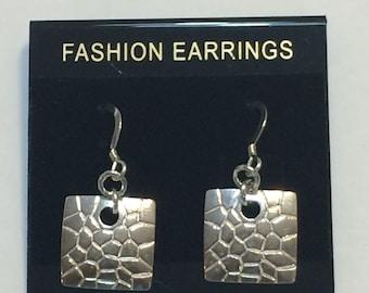 Alluring Silver Dangle Earring