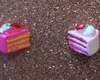 Cake Slice Earrings