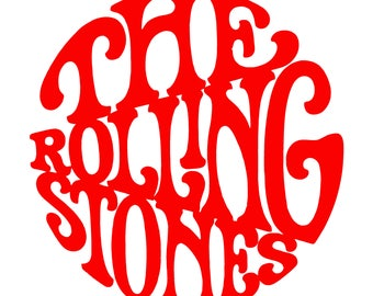 The Rolling Stones Decal