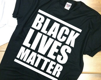 Black Lives Matter - shirt Adult Unisex shirt - all lives matter - lives matter