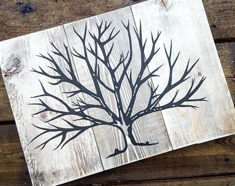 Willow tree - Barnwood style sign