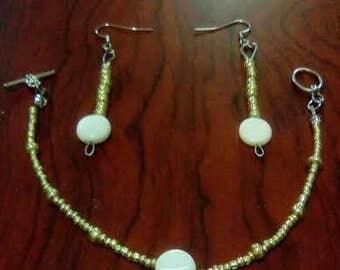 Schizophrenia Awareness Jewelry Set (Necklace, Bracelet and Earrings