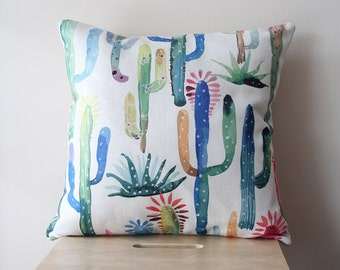 Cactus Pillow Cover, Pillow Covers, Throw Pillow, Cushion Cover, Decorative Pillow Cover, Cushion Cover, Gift