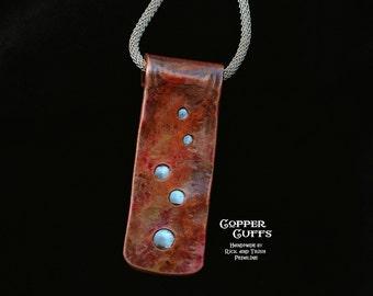 Copper & Aluminum Pendant