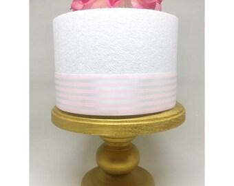 Gold cake stand / mini cake stand /  smash cake stand / cupcake stand / Dessert stand / Wedding cake stand / Cake display stand / Photo prop
