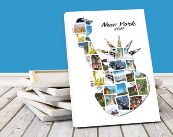 Personalised Statue of Liberty, New York Photo Collage