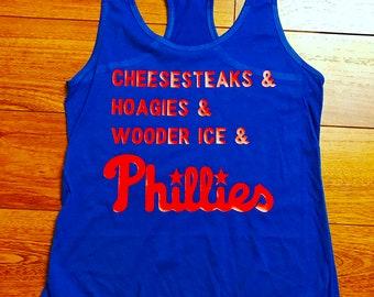 Philadelphia Phillies ladies tank top