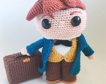 Newt scamander pdf crochet pattern dutch/english