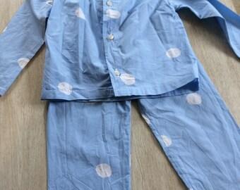 Unisex cotton pajamas
