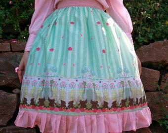 Fantastic Greenhouse Lolita Skirt