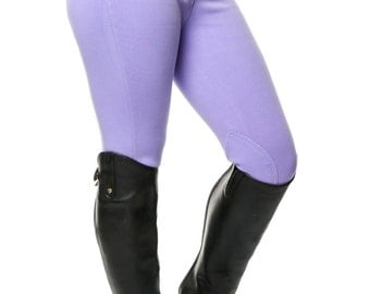 Ladies Lilac Horse Riding Breeches