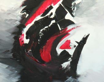 "Hurricane Ruby Giclée Print 18""x 24"""