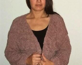 Old pink Bernadette vest-oversized-size L
