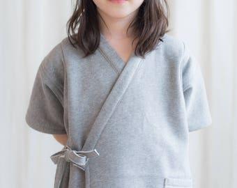 Organic Cotton Jinbei - Japanese Kidswear 6 years boy or girl or Made to Order