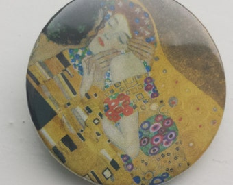 Gustav Klimt The Kiss 38 mm badge