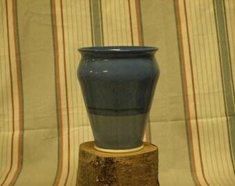 hand thrown pottery vase/wine chiller