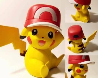 Pikachu Poke'rarium! Pokemon Pokeball Terrarium! Custom Made To Order, 4in or 6in