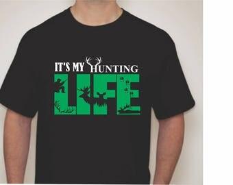 Hunting Life T-shirt-Hunrin T-shirt-Hunting Apparel-Hunting Tees